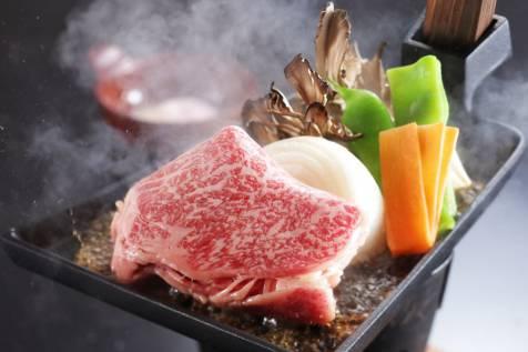 上州牛の鍬焼き