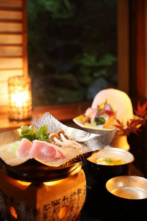 上州もち豚の牛蒡味噌鍋