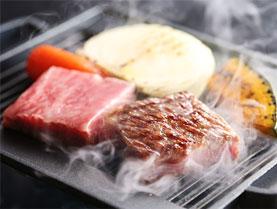 上州牛のサーロインステーキ