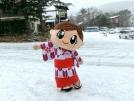 雪、降りました!