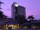 真紫の夕空