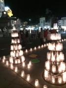 草津温泉キャンドルイベント「夢の灯り」