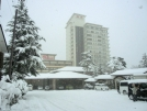 積雪約40センチ!