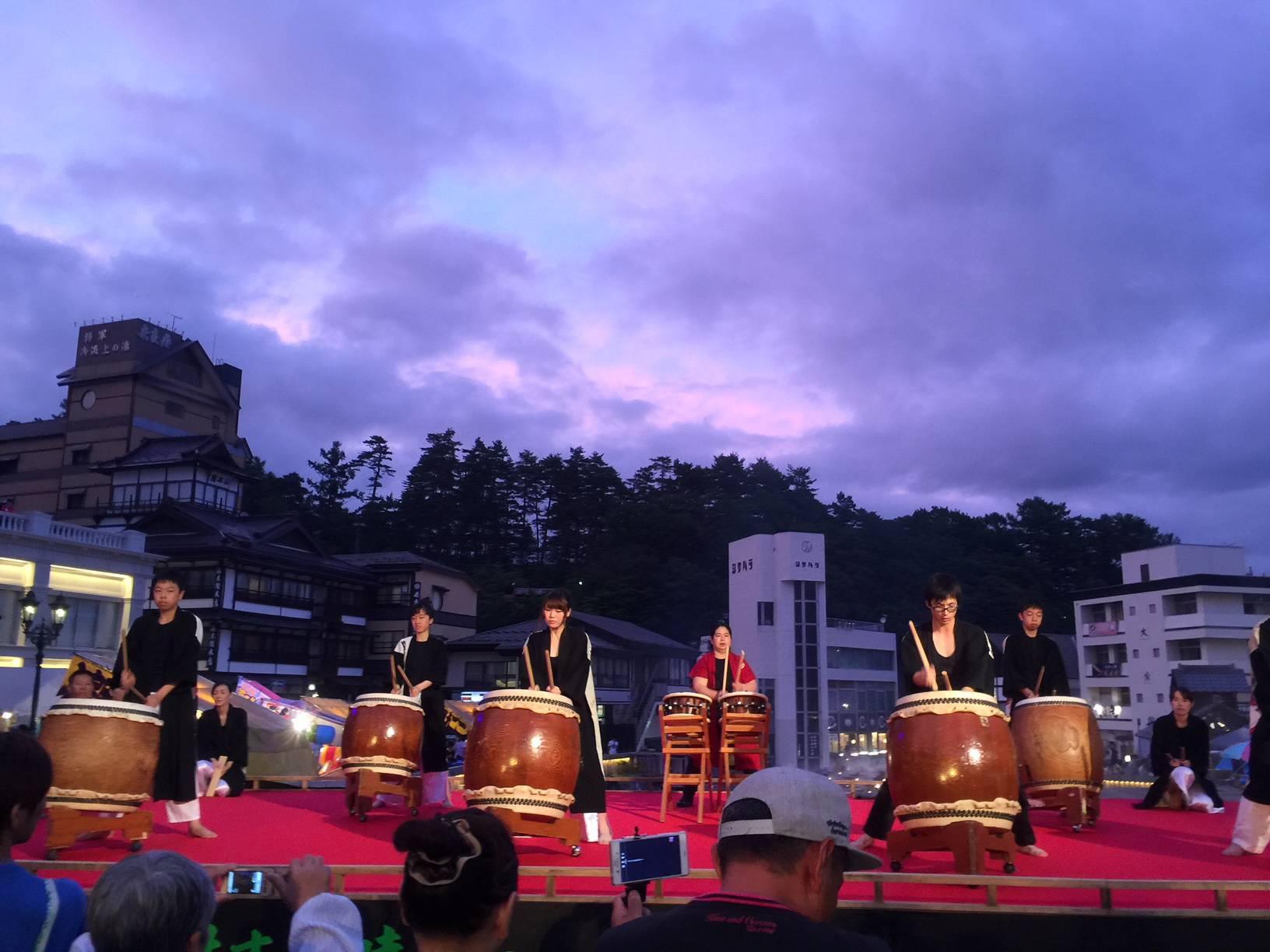 8月1日(木)・2日(金)夜の湯畑送迎中止のお知らせ